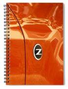 Z Emblem P Spiral Notebook