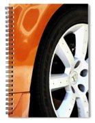 Z Emblem Wheel Spiral Notebook
