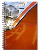 Z Headlight P Spiral Notebook