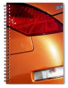 Z Taillights P Spiral Notebook
