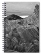 Zabraski Point Death Valley Img 4359 Spiral Notebook
