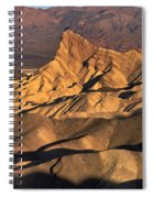 Zabriske Point Sunrise Spiral Notebook
