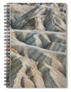 Zabriskie Point Death Valley Spiral Notebook