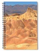Zabriskie Point Medium Panorama Spiral Notebook