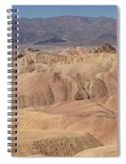 Zabriskie Point Panorama Spiral Notebook