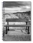 Zabriskie's Bench Spiral Notebook