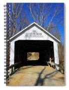 Zacke Cox Covered Bridge Spiral Notebook