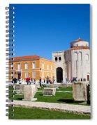 Zadar Historic Architecture Spiral Notebook