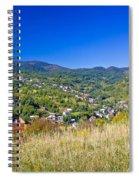 Zagreb Hillside Green Zone Nature Spiral Notebook