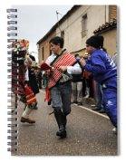 Zangarron 4 Spiral Notebook