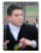 Zangarron Mascarade 3 Spiral Notebook