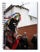 Zangarron Mascarade 6 Spiral Notebook