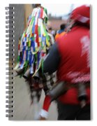 Zangarron Mascarade 8 Spiral Notebook