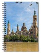 Zaragoza, Zaragoza Province, Aragon Spiral Notebook