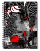 Zebra Art - 56a Spiral Notebook