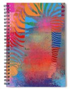 Zebra Art - Mtc077b Spiral Notebook