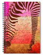 Zebra Art - T1cv2blinb Spiral Notebook