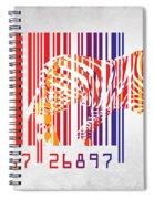 Zebra Barcode Spiral Notebook