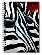Zebra Couple Spiral Notebook
