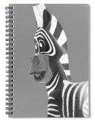Zebra O Spiral Notebook