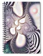 Zebra Phantasm Spiral Notebook