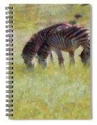 Zebras In Africa Spiral Notebook