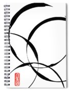 Zen Circles 2 Spiral Notebook