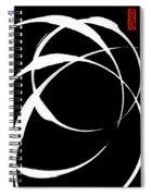 Zen Circles 4 Inverted Spiral Notebook