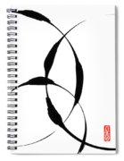 Zen Circles 5 Spiral Notebook