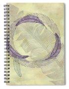 Zen Feather Circle I I I Spiral Notebook