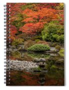 Zen Foliage Colors Spiral Notebook