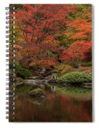 Zen Garden Reflected Spiral Notebook