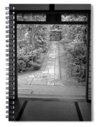 Zen Garden Walkway Spiral Notebook