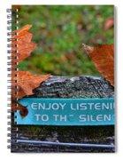 Zen Inner Peace Spiral Notebook