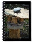 Zen Rocks In Balance Spiral Notebook