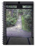 Zen Tea House Dream Spiral Notebook