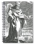 Zeno Of Citium, Ancient Greek Spiral Notebook