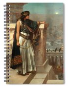 Zenobia's Last Look On Palmyra Spiral Notebook