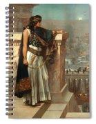 Zenobia's Last Look On Palmyra Spiral Notebook