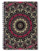 Zentangle No. 7 Kaleidoscope Spiral Notebook