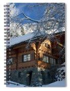 Zermatt Chalet Spiral Notebook