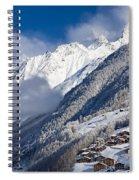 Zermatt Mountains Spiral Notebook