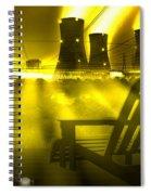 Zero Hour In Yellow Spiral Notebook
