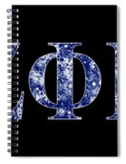 Zeta Phi Beta - Black Spiral Notebook