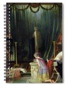 Zeuxis Choosing A Model For Helen Spiral Notebook