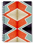 Zig Zag Angles 3 Spiral Notebook