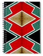 Zig Zag Angles 4 Spiral Notebook