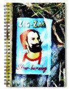 Zig Zag Double Wide Spiral Notebook