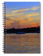 Zig Zag Sky Spiral Notebook