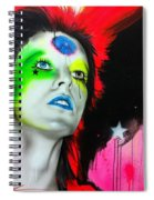 Ziggy Played Guitar Spiral Notebook